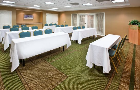 Conference room La Quinta Inn Ste Greenville Haywood