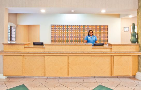 Hol hotelowy La Quinta Inn and Suites Charlotte Airport South