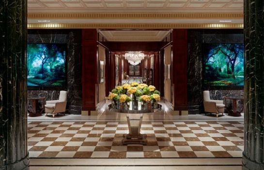 Hall de l'hôtel JW Marriott Essex House New York