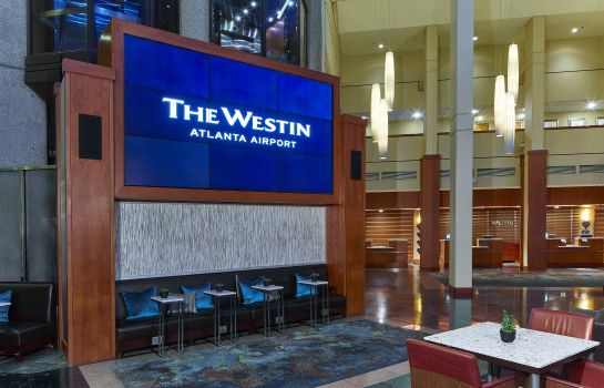 Lobby The Westin Atlanta Airport