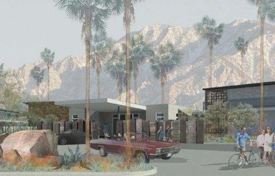 Exterior view The Curve Palm Springs Hotel