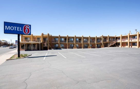 Vista exterior MOTEL 6 SANTA FE PLAZA - DOWNTOWN