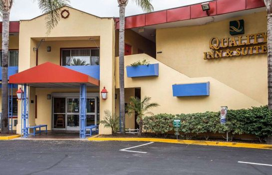 Außenansicht Quality Inn & Suites Anaheim at the Park