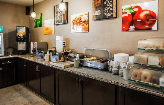 Restaurant Quality Inn and Suites Anaheim at the Pa