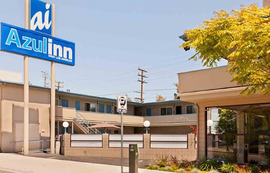 Buitenaanzicht Los Angeles West Travelodge