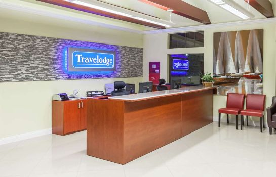 Hotelhalle TRAVELODGE ANAHEIM INTERNATION