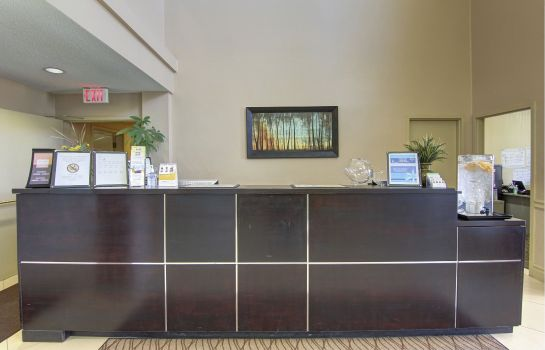 Hall de l'hôtel Comfort Inn and Suites Ambassador Bridge