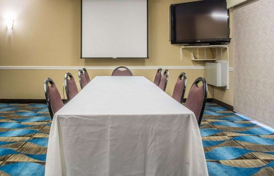 Conference room Quality Inn Barrie