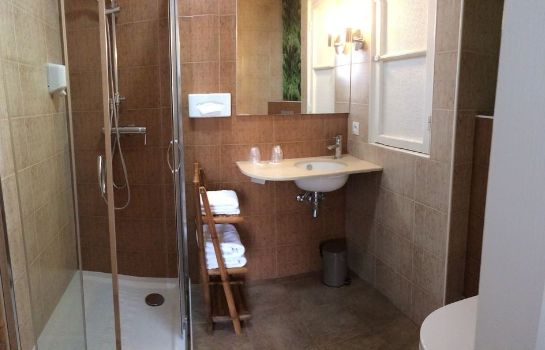 Bagno in camera Hotel Le Petit Trianon