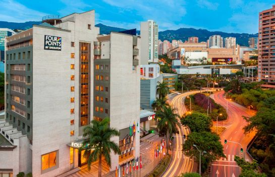 Exterior view Four Points by Sheraton Medellin