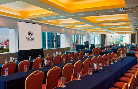 Conference room Sheraton Mexico City Maria Isabel Hotel