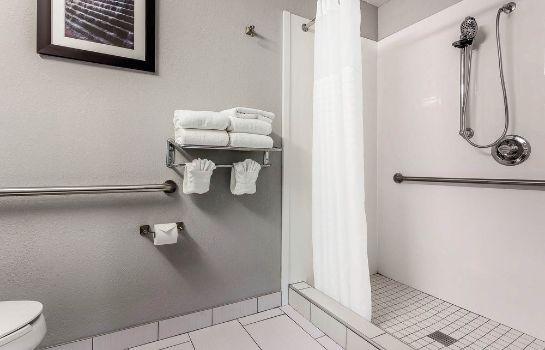 Bagno in camera Quality Suites Pineville - Charlotte