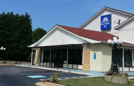 Buitenaanzicht Americas Best Value Inn Douglasville