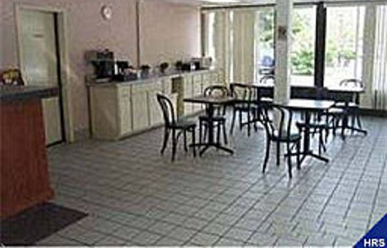 Sala colazione Americas Best Value Inn-Douglasville