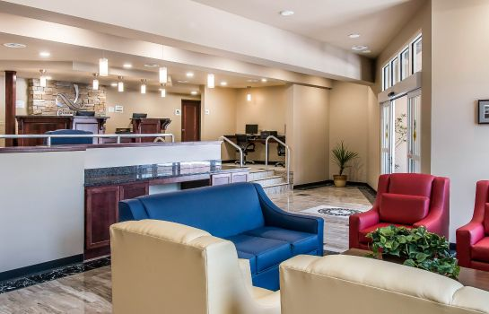 Hotelhalle Quality Inn & Suites Houghton