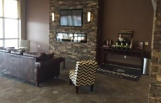 Hall de l'hôtel Boarders Inn & Suites by Cobblestone Hotels – Grand Island Boarders Inn & Suites by Cobblestone Hotels – Grand Island
