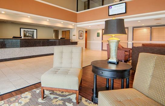 Hol hotelowy BW EAST TOWNE SUITES