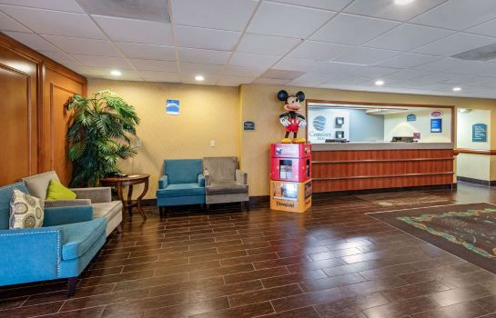 Lobby Comfort Inn Anaheim Resort Comfort Inn Anaheim Resort