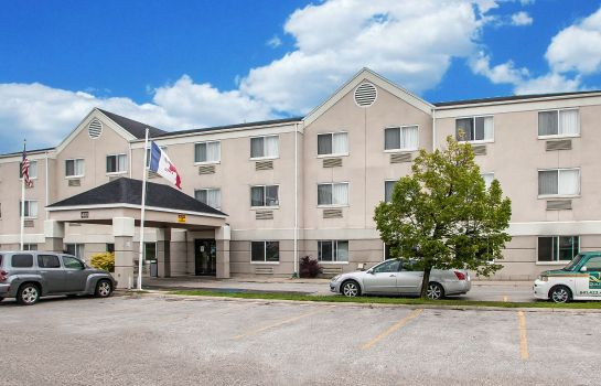 Außenansicht Quality Inn & Suites Mason City