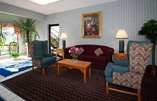 Hotelhalle Quality Inn Oakwood