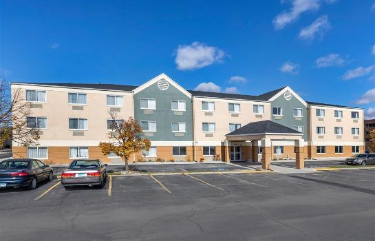 Exterior view Quality Inn and Suites Mason City