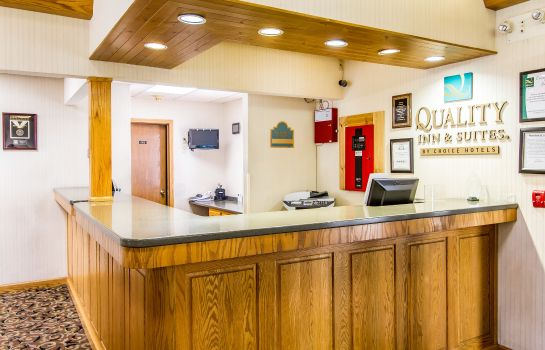 Hotelhalle Quality Inn & Suites Marion
