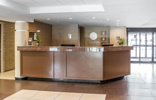 Hotelhalle Sleep Inn and Suites BWI Airport