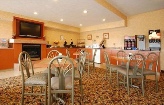 Restaurant Econo Lodge Inn and Suites West