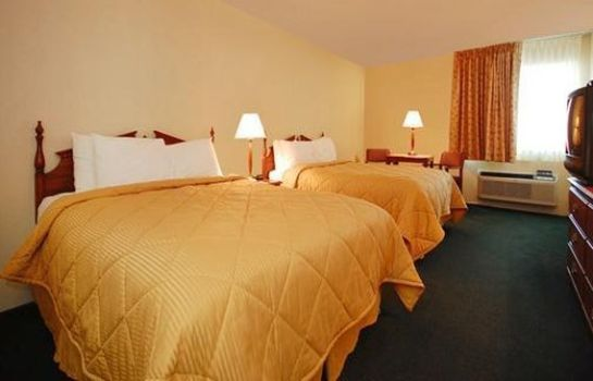 Zimmer Econo Lodge Inn and Suites West