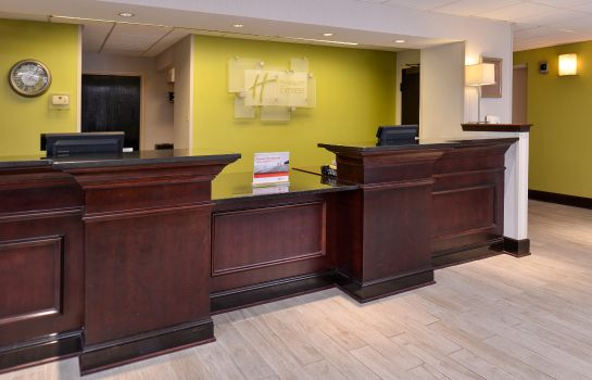 Hotelhalle Holiday Inn Express OMAHA WEST - 90TH STREET
