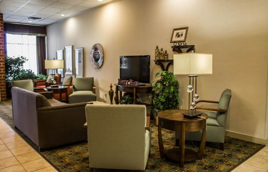 Hall de l'hôtel Quality Inn & Suites Mansfield
