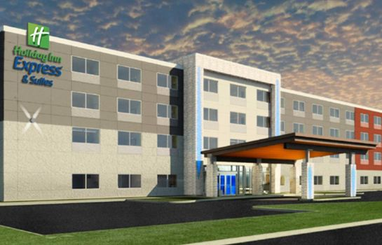 Außenansicht Holiday Inn Express COLUMBUS SOUTH - OBETZ
