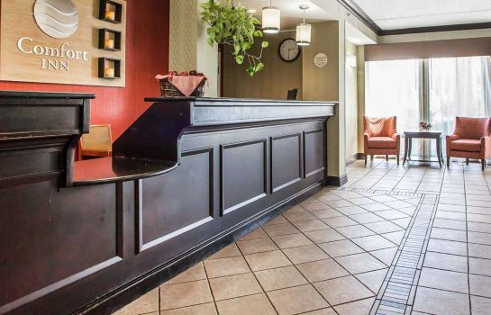 Lobby Comfort Inn Lehigh Valley West