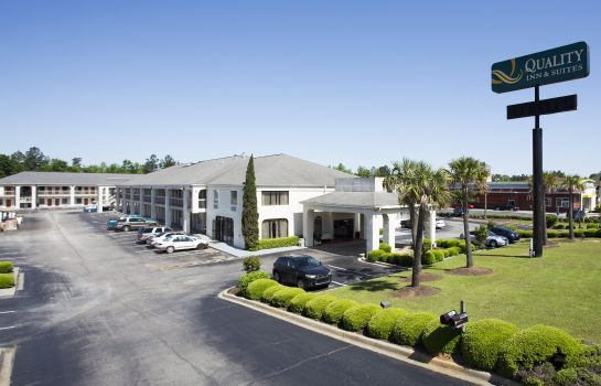 Vista exterior Quality Inn & Suites Orangeburg