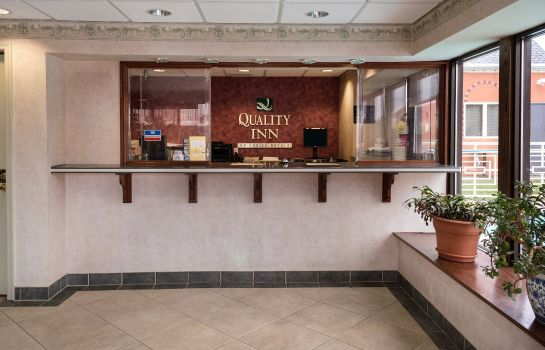 Hotelhalle Quality Inn Little Creek
