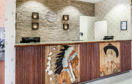 Hotelhalle Comfort Inn at Buffalo Bill Village Resort