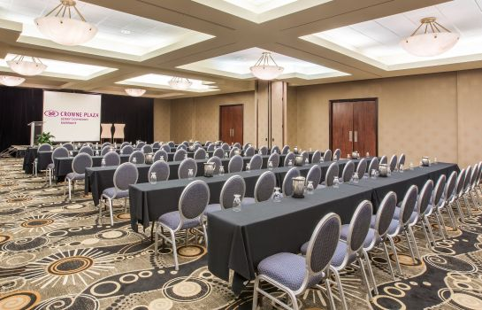 Conference room Crowne Plaza DETROIT DOWNTOWN RIVERFRONT
