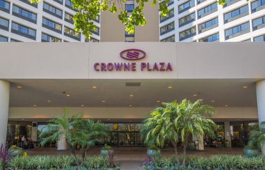 Exterior view Crowne Plaza LOS ANGELES AIRPORT