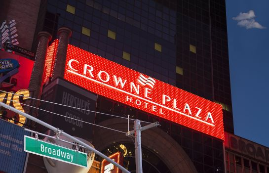 Vista exterior Crowne Plaza TIMES SQUARE MANHATTAN