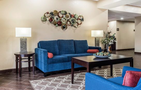 Hotelhalle Comfort Suites Tallahassee Downtown