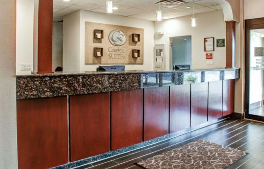 Lobby Comfort Suites Lombard - Addison