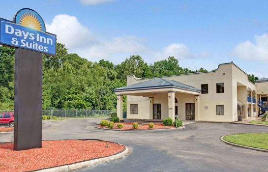 Außenansicht DAYS INN AND SUITES MEMPHIS E