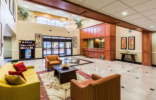 Hall de l'hôtel Comfort Suites Westchase Houston Energy