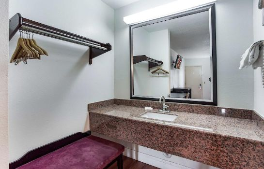 Bagno in camera Red Roof Inn Monteagle - I-24