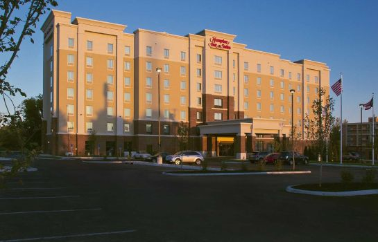Außenansicht Hampton Inn - Suites Columbus-University Area