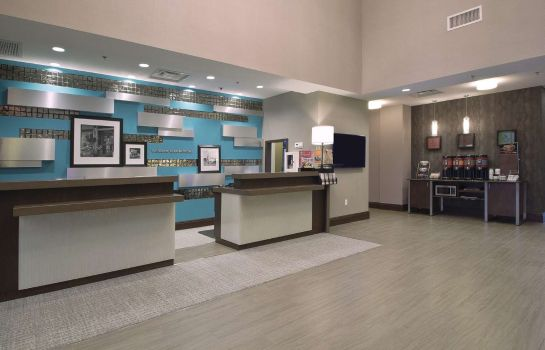 Hotelhalle Hampton Inn - Suites Columbus-University Area