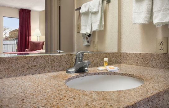 Bagno in camera Cookeville-Days Inn
