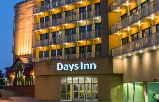 Exterior view DAYS INN ATLANTIC CITY OCNFRNT