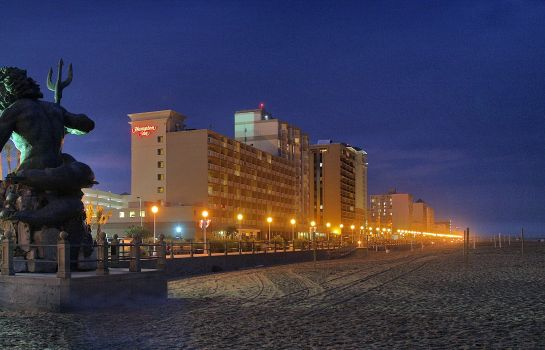 Außenansicht Hampton Inn Virginia Beach-Oceanfront North