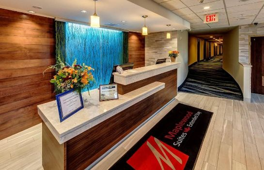 Recepción Maplewood Suites Extended Stay- Syracuse/Airport